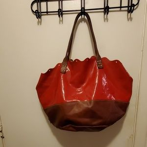 Sofia C Red Leather Purse